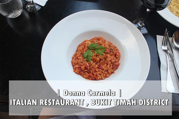 [SG EATS] ITALIAN RESTAURANT -DONNA CARMELA