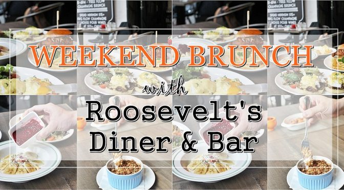 [SG EATS]WEEKEND BRUNCH WITH ROOSEVELT'S DINER AND BAR [CLOSED]