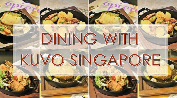 [SG EATS] DISCOVER KUVO NEW MENU & CONCEPT LAUNCH | ORCHARD SHOPPING CENTRE