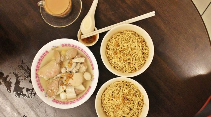 [M'SIA EATS] A STORY OF NOODLE DESCENDENTS [面家汤] (MIN JOO CAFÉ) KUCHING