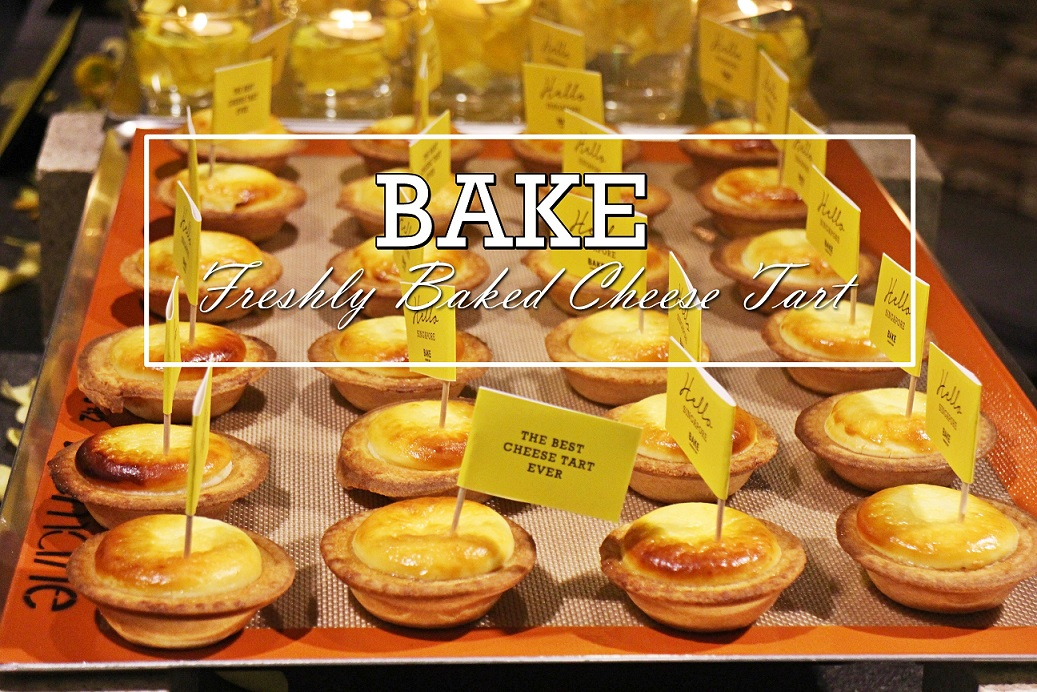 [SG EATS] BAKE CHEESE TART – FIRST FLAGSHIP STORE IN SINGAPORE OPENING ON 29TH APRIL 2016.