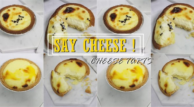 [SG EATS] The Icing Room Launches New Cheese Tart & Salted Egg Yolk Cheese Tart Today