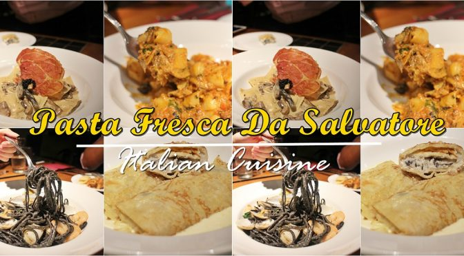 [SG EATS] AFFORDABLE FRESH ITALIAN PASTAS BY PASTA FRESCA DA SALVATORE