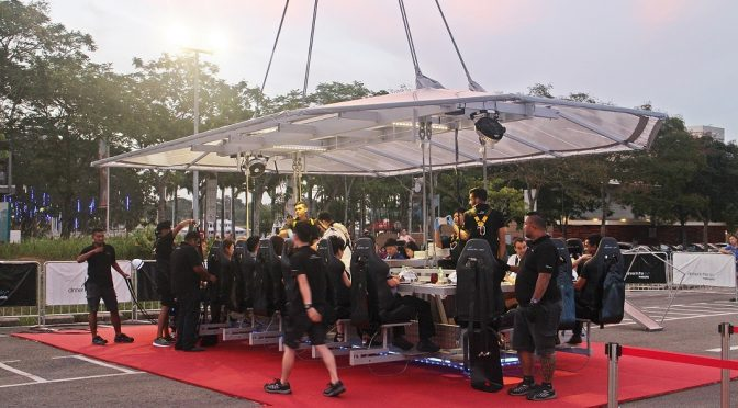 [JB EATS] MY ONE HOUR LIFETIME EXPERIENCE WITH DINNER IN THE SKY PUTERI HARBOUR JOHOR BAHRU