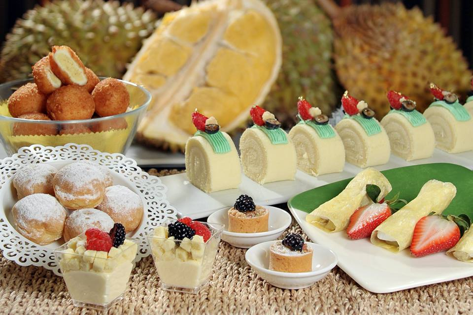 [SG EATS] 6 DURIAN DESSERTS TO TRY AT HIGH TEA BUFFET MARRIOTT CAFÉ