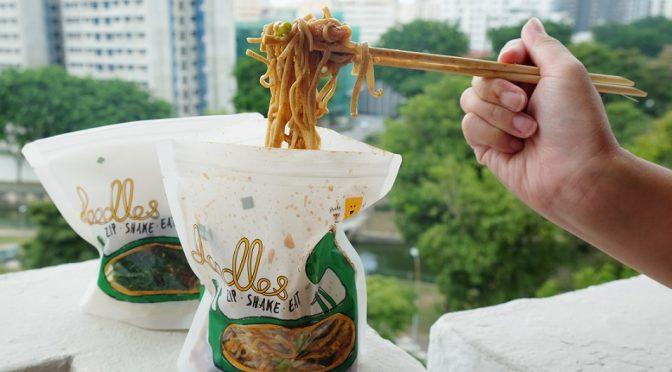 [SG EATS] DOODLES- The shake shake noodles at Tiong Bahru