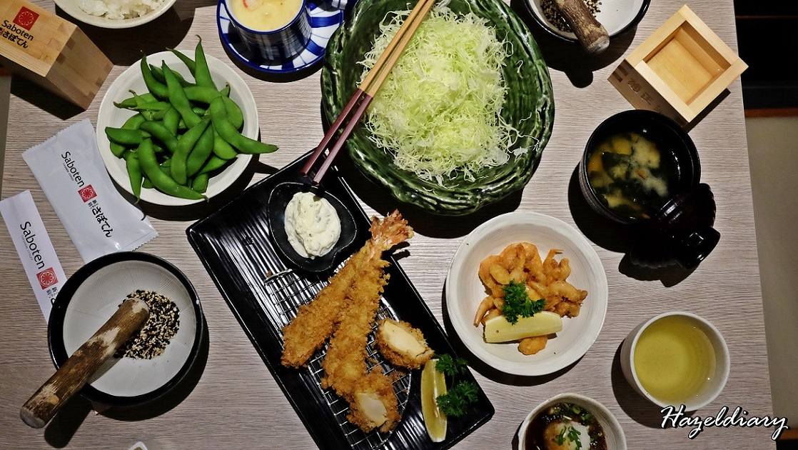 [SG EATS] SABOTEN OPENS AT 100AM MALL | TANJONG PAGAR