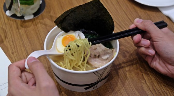 [SG EATS] KURO-OBI – RAMEN TAKEAWAY @ MARINA BAY SANDS