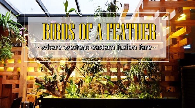 [SG EATS] Birds Of A Feather – Western-Eastern Fusion Bar & Cafe At Amoy Street