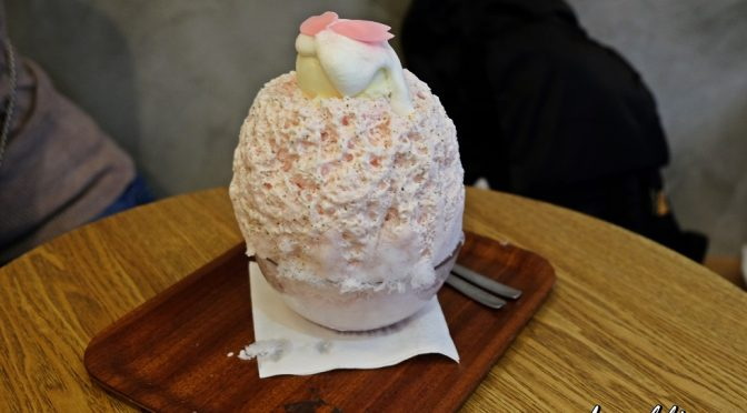 [HK EATS] SHARI SHARI KAKIGORI HOUSE (氷屋 ) – ONE OF THE MUST VISIT DESSERT CAFE IN HONG KONG