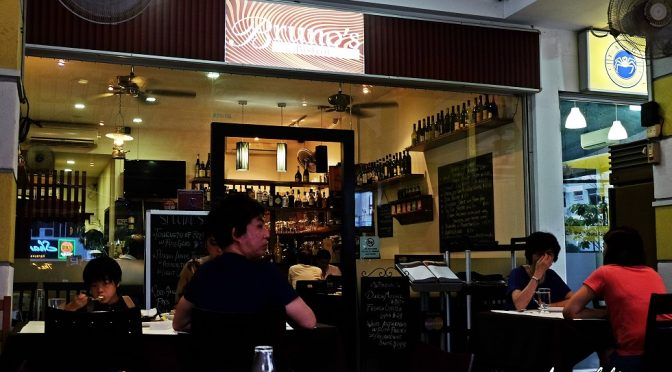 [SG EATS] Bruno's Pizzeria & Grill At Tanjong Katong