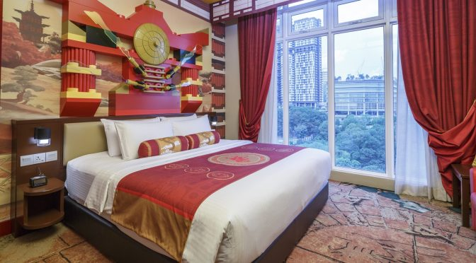 [JB HOTEL] Legoland Malaysia Resort Launches Ninjago™ Themed Rooms