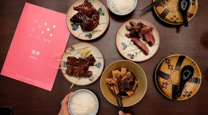 [SG EATS] Five Ten At South Bridge Road – S$5 – S$10 Taiwanese Fusion Cuisine (CLOSED)