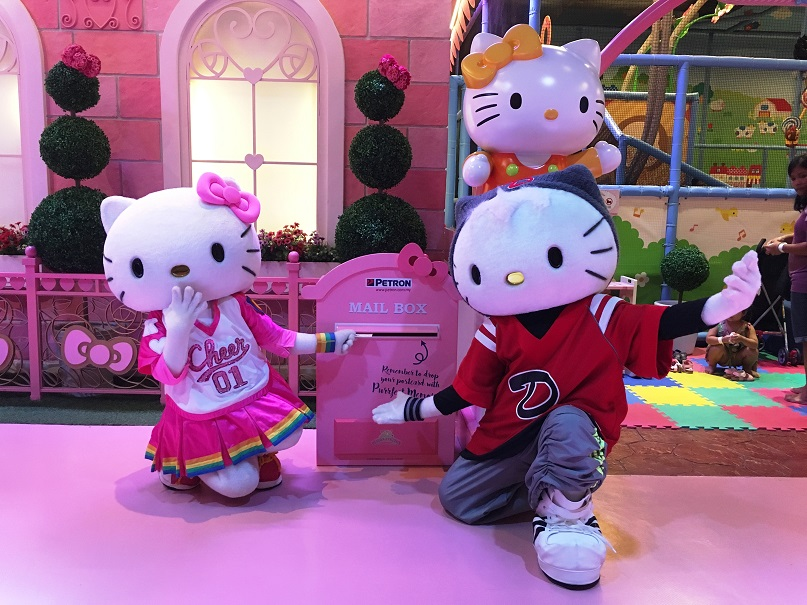 [JB TRAVELS]Hello Kitty Hello Post From Sanrio Hello Kitty Town | Puteri Harbour Johor Bahru