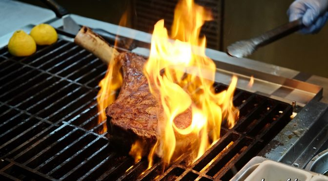 [JB EATS] Grilled Tomahawk by Tosca Trattoria Italiana | Doubletree By Hilton Johor Bahru