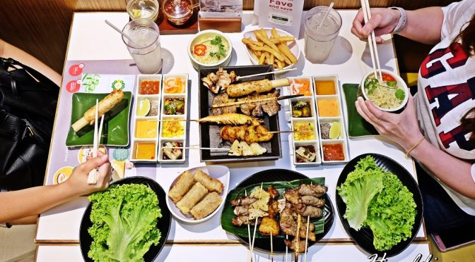 [SG EATS] Wrap & Roll – First Vietnamese Skewer Buffet in Singapore