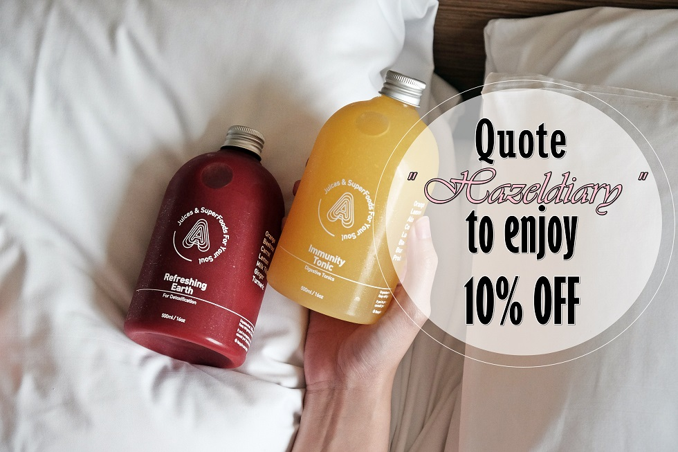 [PRODUCT REVIEW] 3-Days Juice Cleansing With Antidote