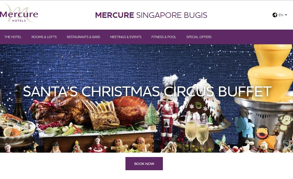 [SG EATS] Mercure Singapore Bugis Santa Christmas Circus 2018 Highlights