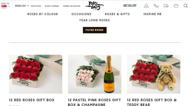 [PRODUCT REVIEW + GIVEAWAY] Roses Only Singapore– One stop solution for Roses Gifts!