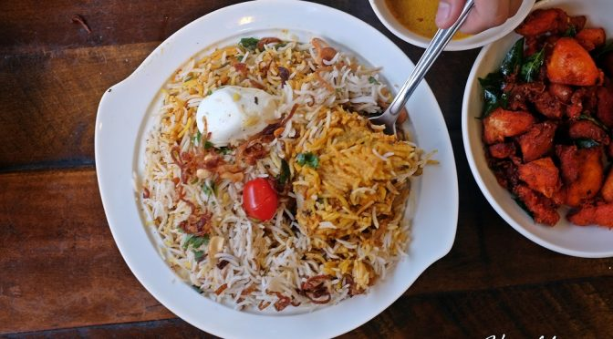 [SG EATS] Mr Biryani At Norris Road – One of the Best Biryani in Town