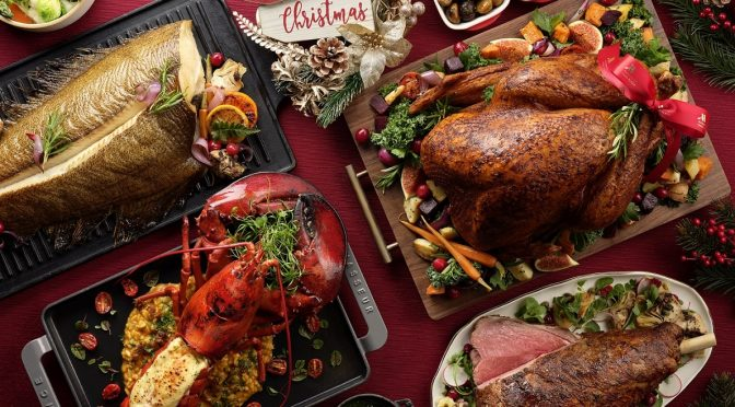 [SG EATS] Come Home to Christmas 2020 At Singapore Marriott Tang Plaza Hotel