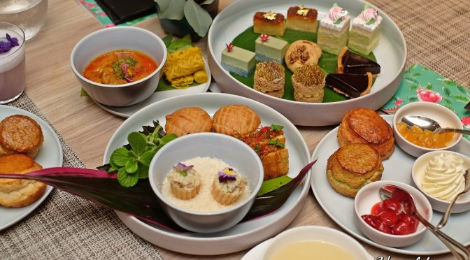 [SG EATS] Peranakan Afternoon Tea at One-Ninety Bar | Four Seasons Hotel Singapore X Candlenut