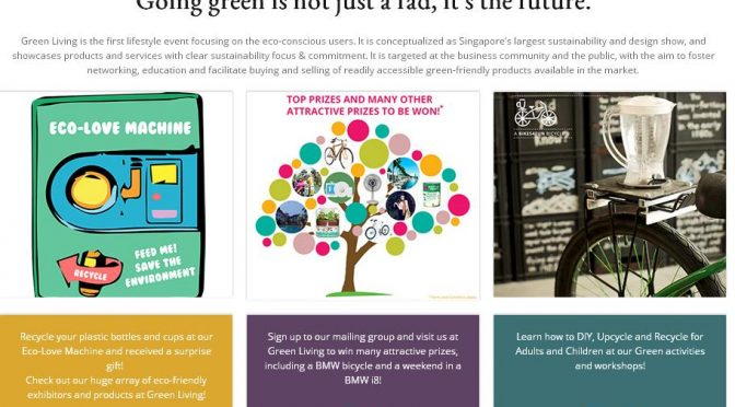 [SG EVENT] Green Living The Eco Lifestyle | Marina Bay Sands