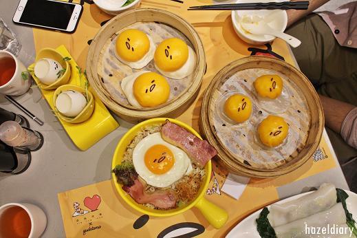 [HK EATS] Gudetama [ ぐでたま] Theme-Restaurant DIM SUM ICON | Hong Kong