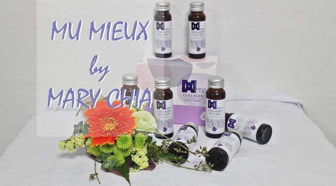 [SG BEAUTY] MU MIEUX Collagen Drink | Mary Chia