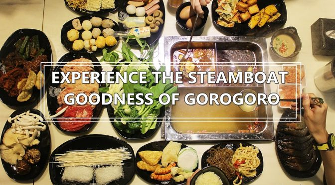 [SG EATS] WALLET-FRIENDLY GORO GORO RESTAURANT, STEAMBOAT AND KOREAN BUFFET AT ORCHARD GATEWAY @EMERALD (CLOSED)