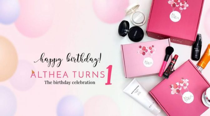 SHOUT-OUT: ALTHEA CELEBRATES 1st BIRTHDAY WITH EXCITING NEWS #AltheaTurns1