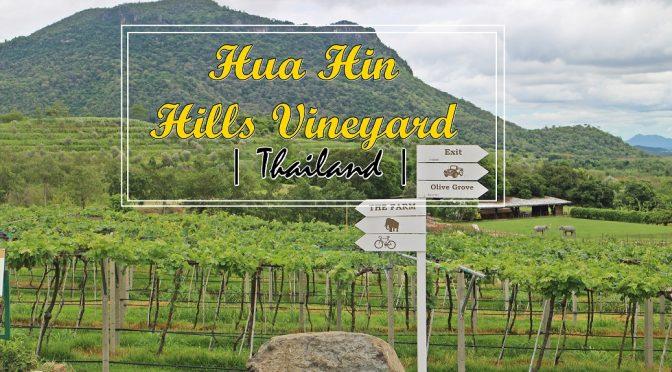 [THAILAND TRAVELS] HUA HIN HILLS VINEYARD EXPERIENCE