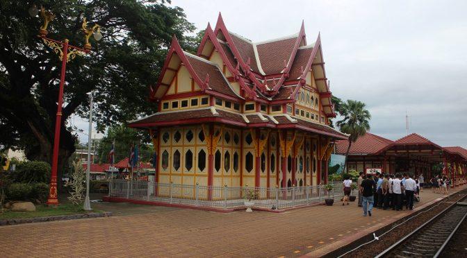 [THAILAND TRAVELS] HUA HIN RAILWAY STATION & KHAO HIN LEK FAI VIEW POINT