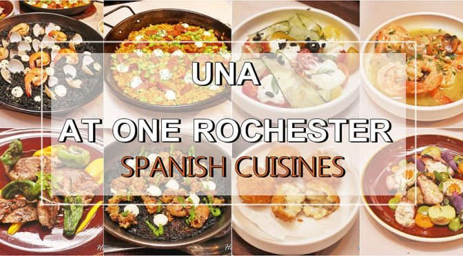[SG EATS] 13 SAVOURY & SWEET DELICACIES BY MICHELIN STARRED TRAINED CHEF AT UNA   ONE ROCHESTER