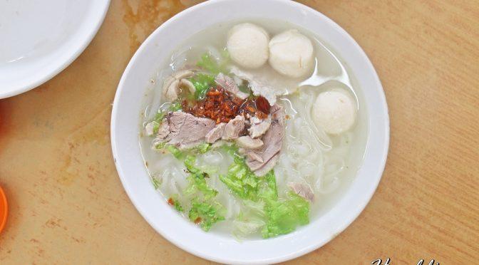 [PENANG EATS] PITT STREET KOAY TEOW SOUP (椰脚粿条汤 )@ CARNAVON STREET | GEORGETOWN