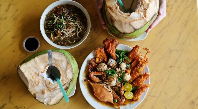 [JB EATS] ALONA COCONUT- NOT YOUR USUAL MEE REBUS