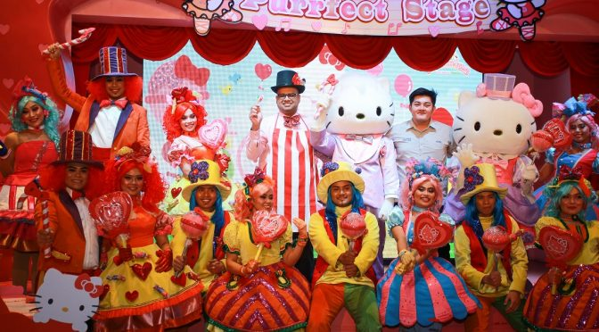 """[EXPLORE JB] SANRIO HELLO KITTY TOWN- """"CANDY PARADE"""" HAPPENING IN PUTERI HARBOUR, MALAYSIA"""