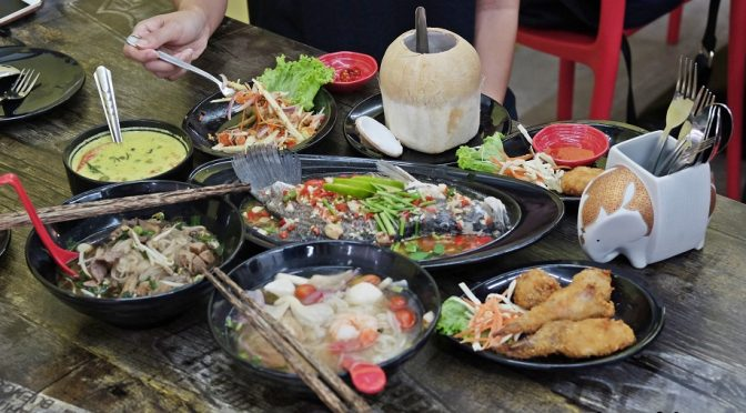 [SG EATS] Time for Thai – Thai Cuisine for Supper Anyone?