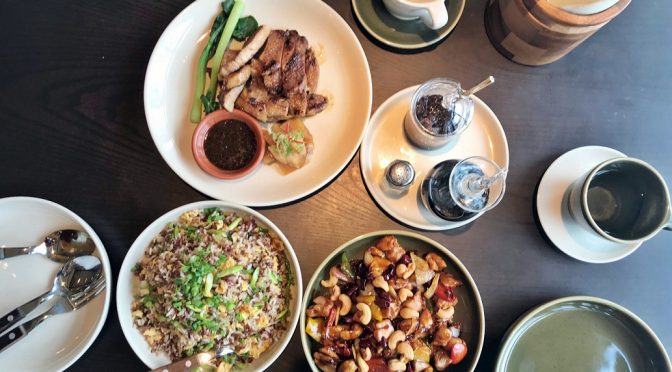 [SG EATS] Auntie's Wok And Steam of Alley On 25 | Andaz Singapore
