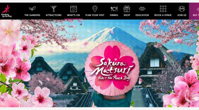 [EXPLORE SG]5 Reasons to Never Stop Blooming with Sakura Matsuri at Gardens by the Bay