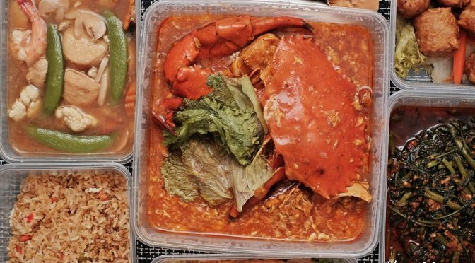 [SG EATS] 8 Crabs – Crabs & Zi Char Delivery Service in Singapore
