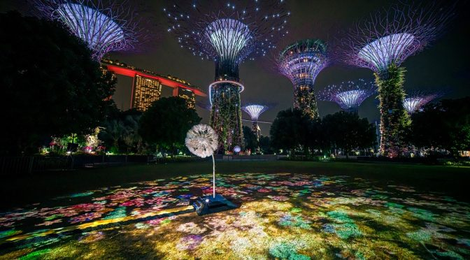 [EXPLORE SG] Gardens by the Bay and Japanese creative force NAKED present Dandelion