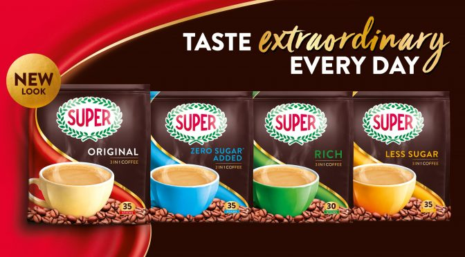 SUPER Launches NEW Brand Identity and NEW Zero Sugar Added Coffee – FREE Sample Kit To Redeem