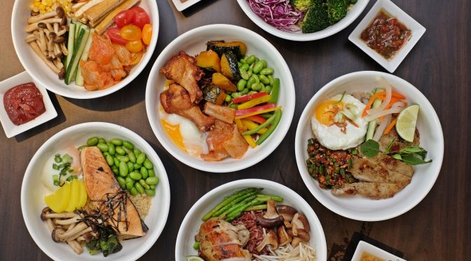 [SG EATS] 6 Flavourful Super Grain Bowls Available At White Rose Cafe | York Hotel Singapore