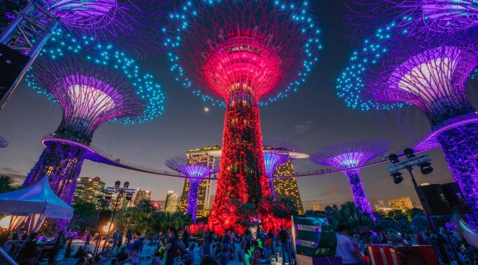 [EXPLORE SG] Lights on the Supertrees will 'dance' once more as full version of Garden Rhapsody returns to usher in the NEW Year
